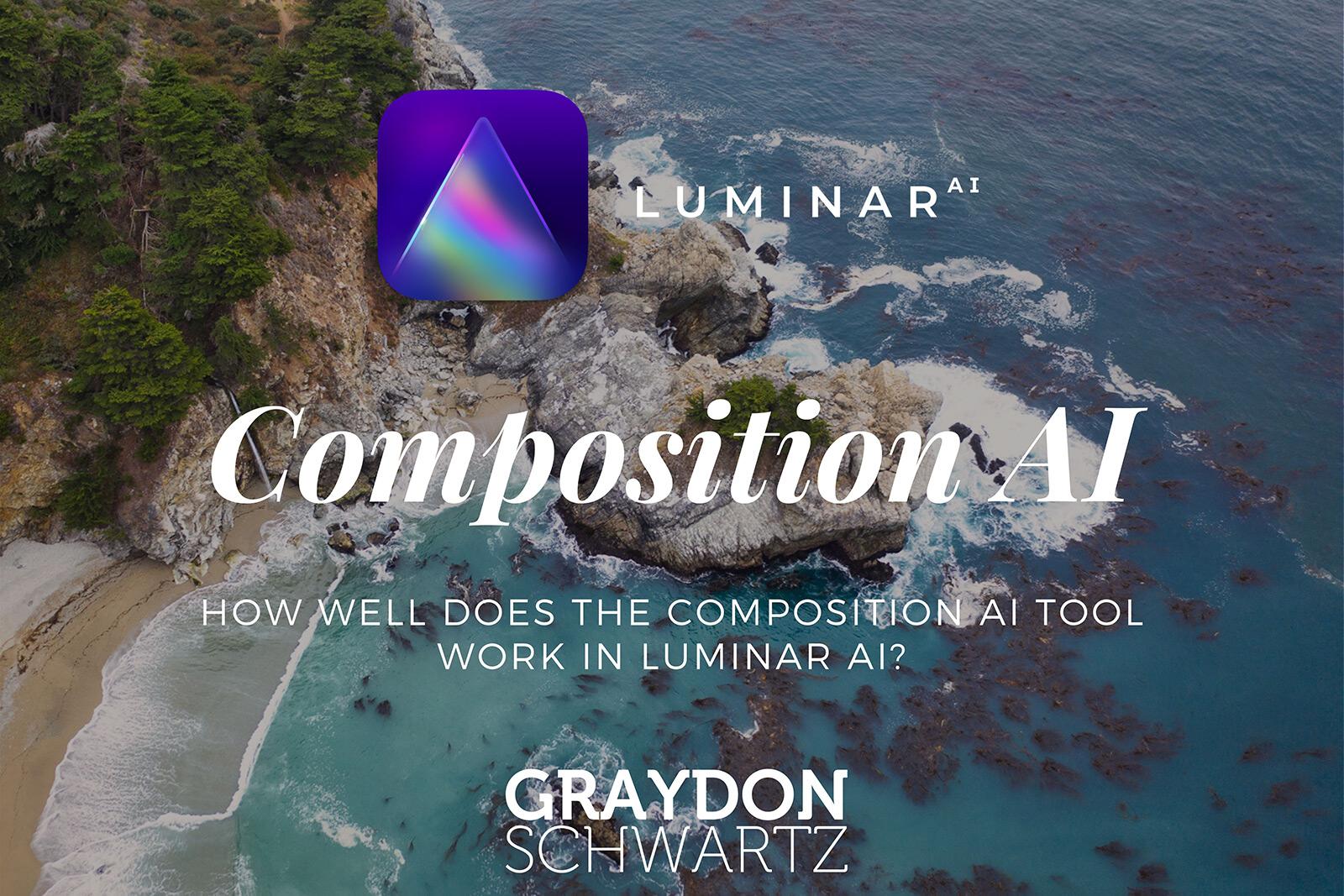 ¿Qué tal funciona la herramienta de composición en Luminar AI?