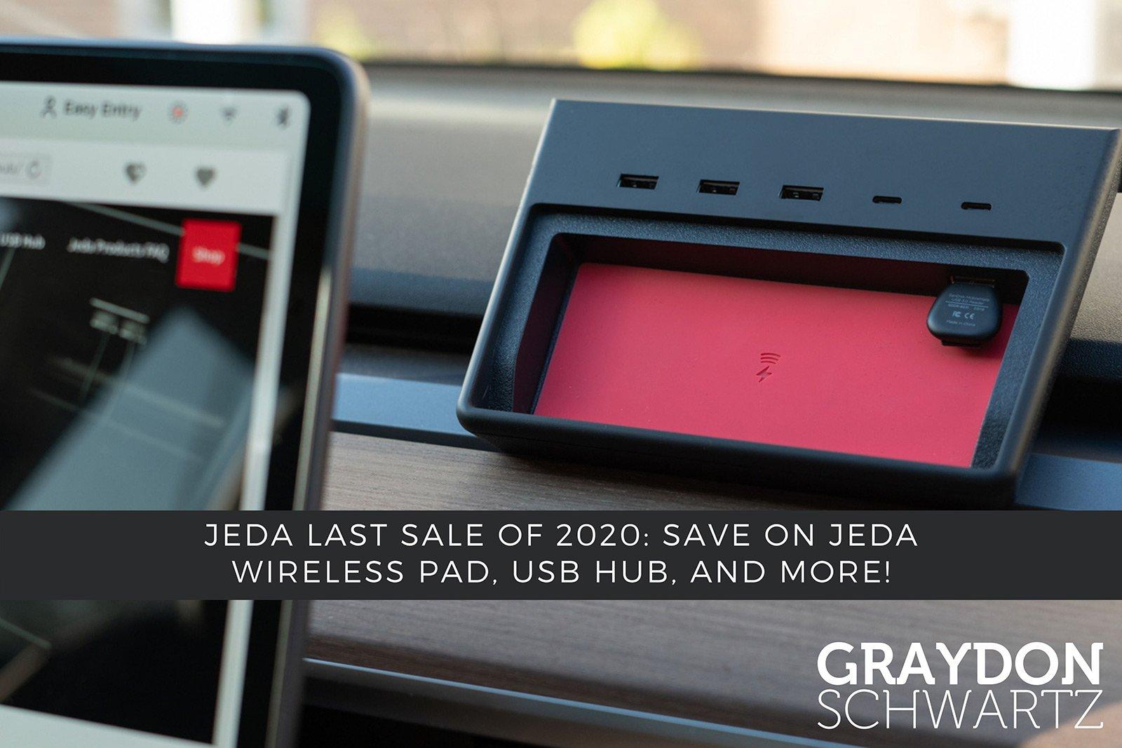 Jeda Letzter Sale des Jahres 2020: Sparen Sie bei Jeda Wireless Pad, USB Hub und mehr!