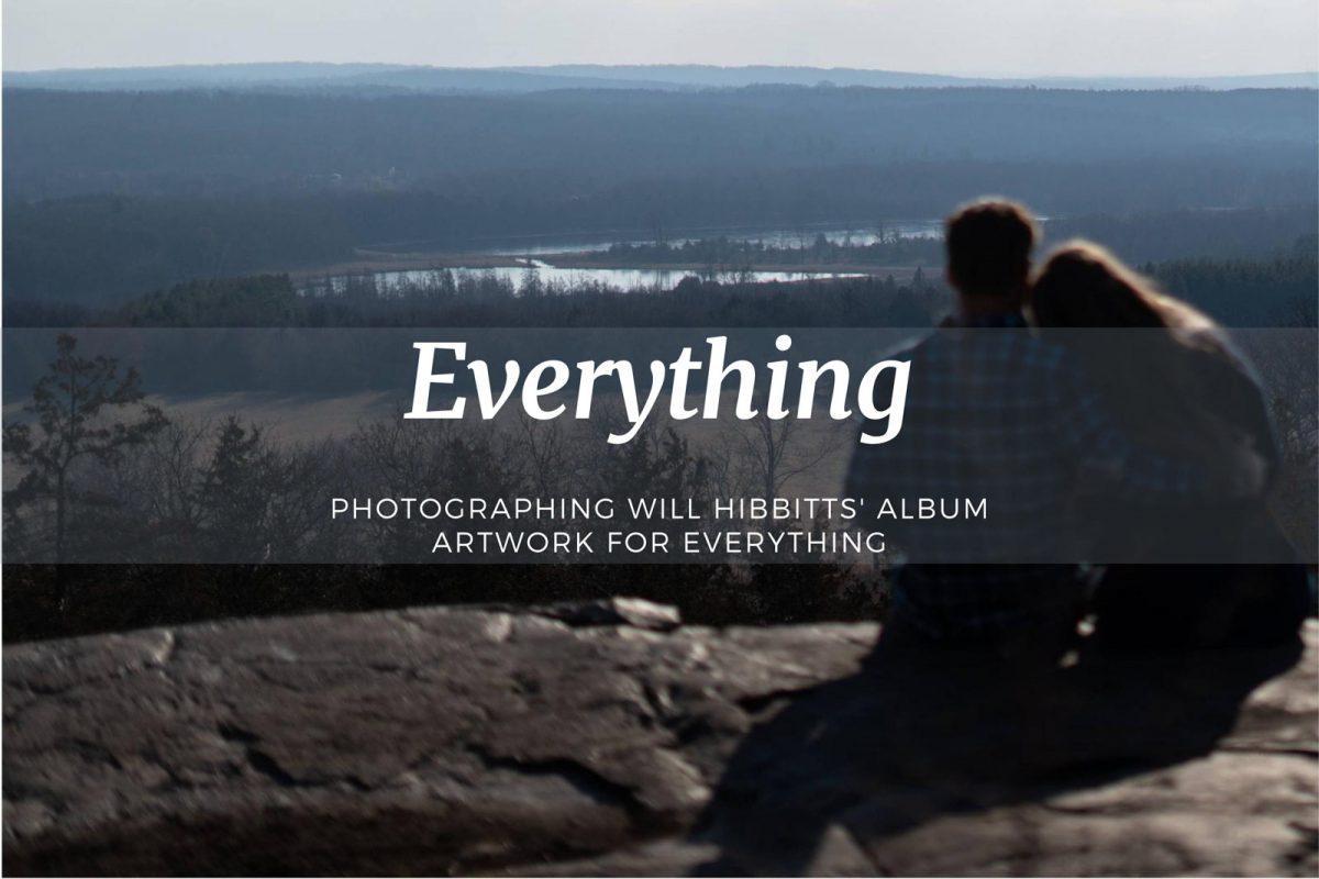 Fotografieren von Will Hibbitts' Album-Artwork für Alles