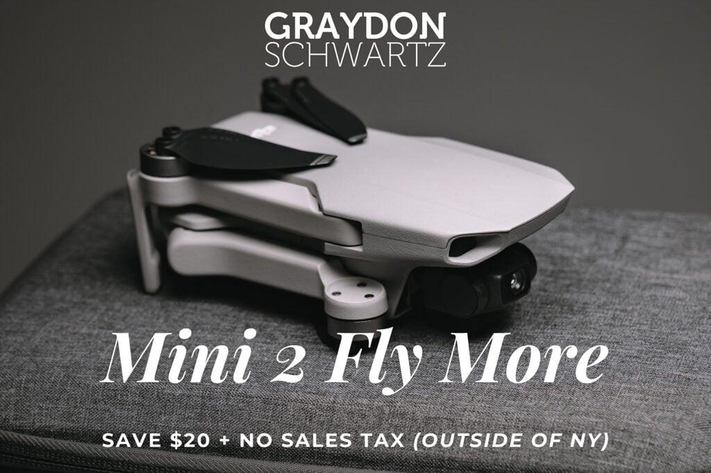 Ahorra más de $20 en el paquete DJI Mini 2 Fly More en Wellbots