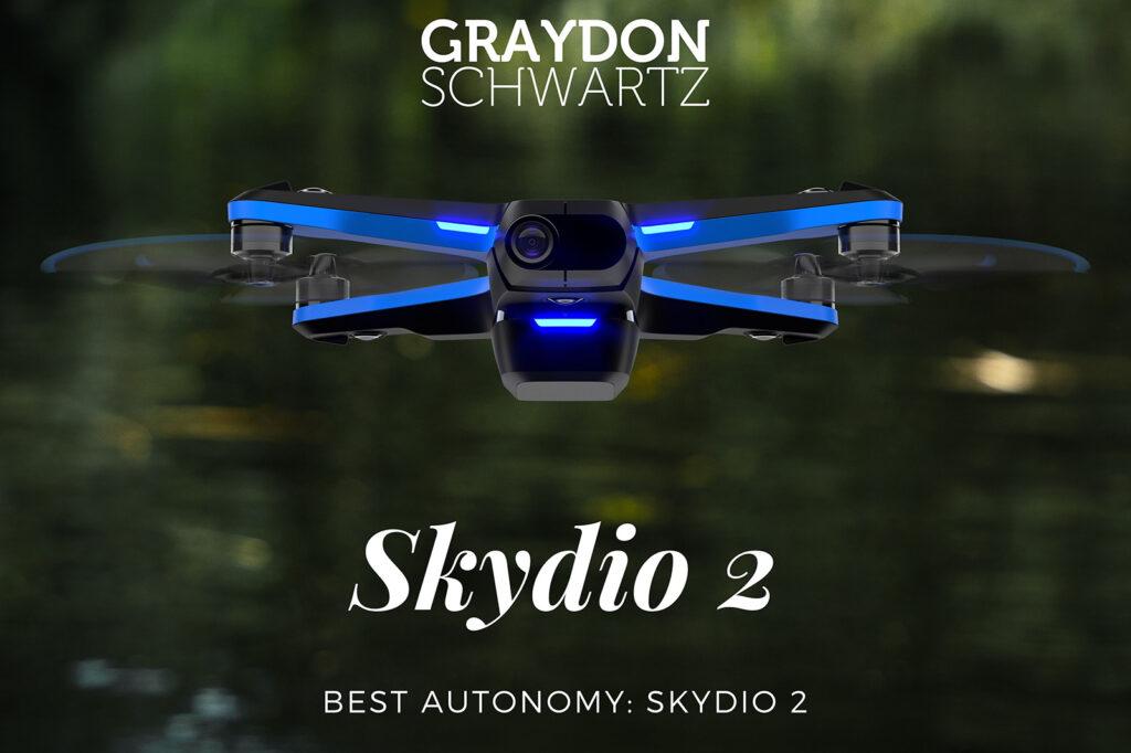 skydio 2 meilleure autonomie | graydonschwartz.com