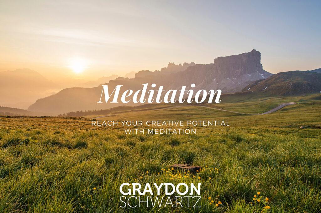 Alcanza tu potencial creativo con la meditación