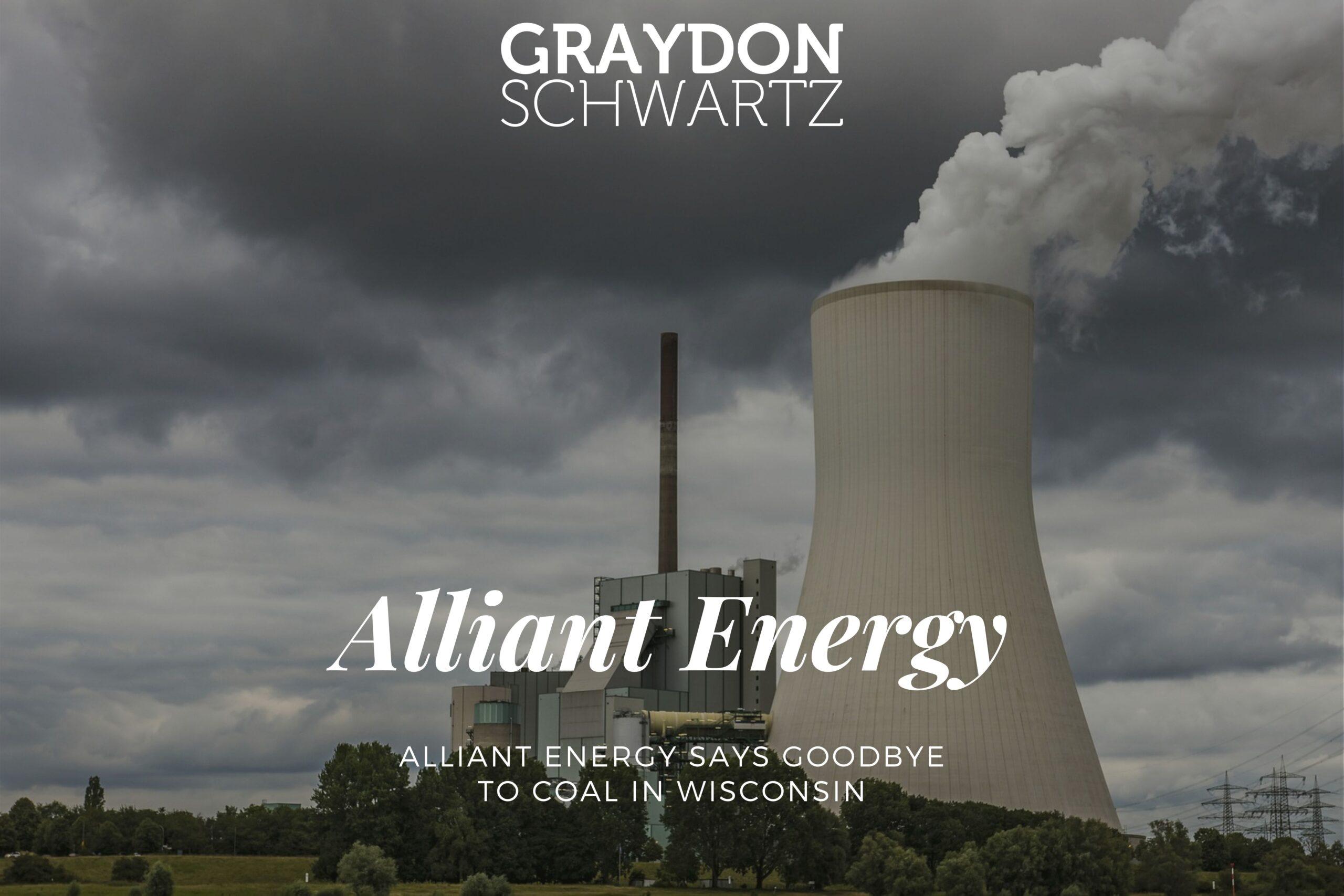 Alliant Energy verabschiedet sich von der Kohle in Wisconsin