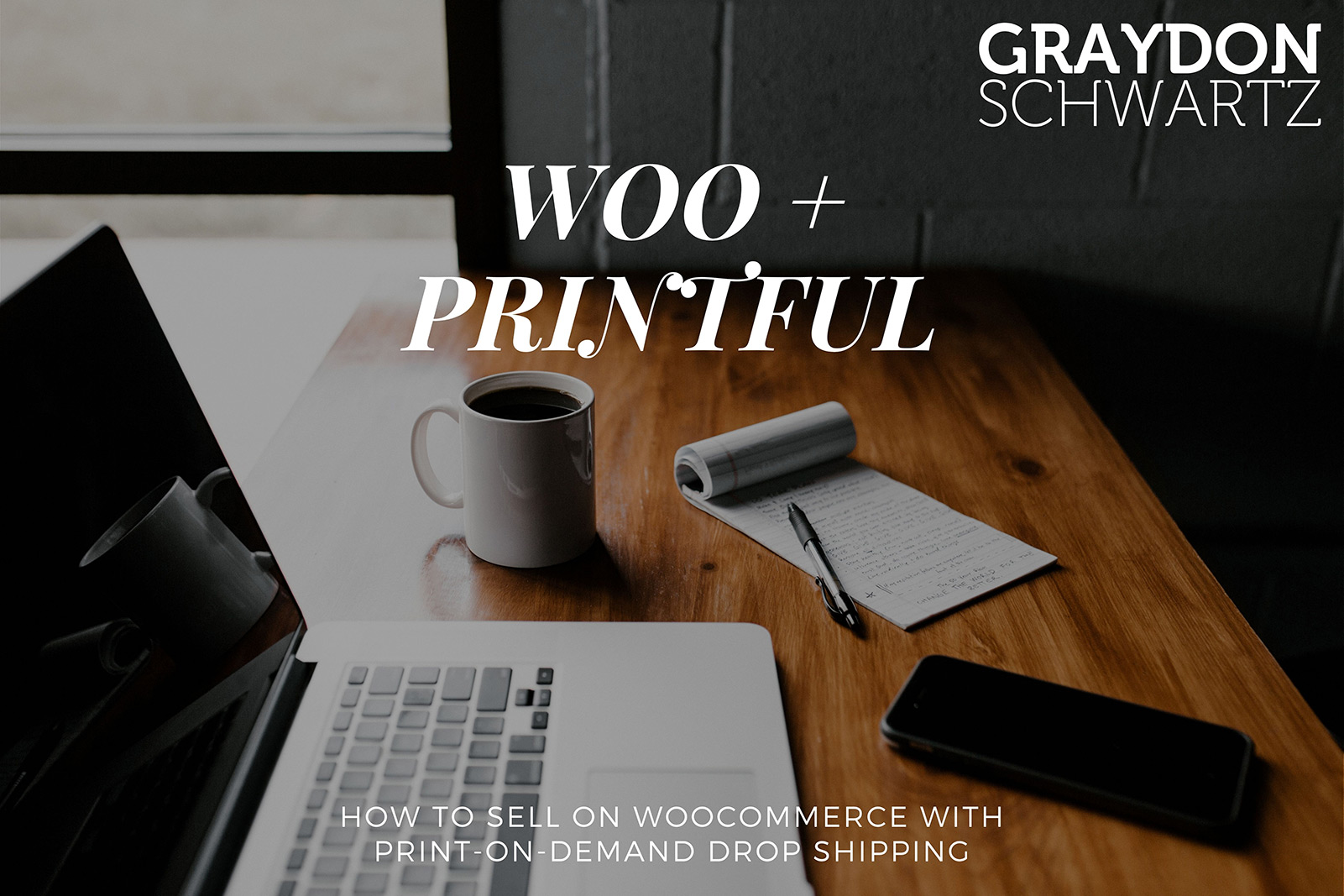 How to Sell on Woocommerce With Print-on-Demand Drop Shipping