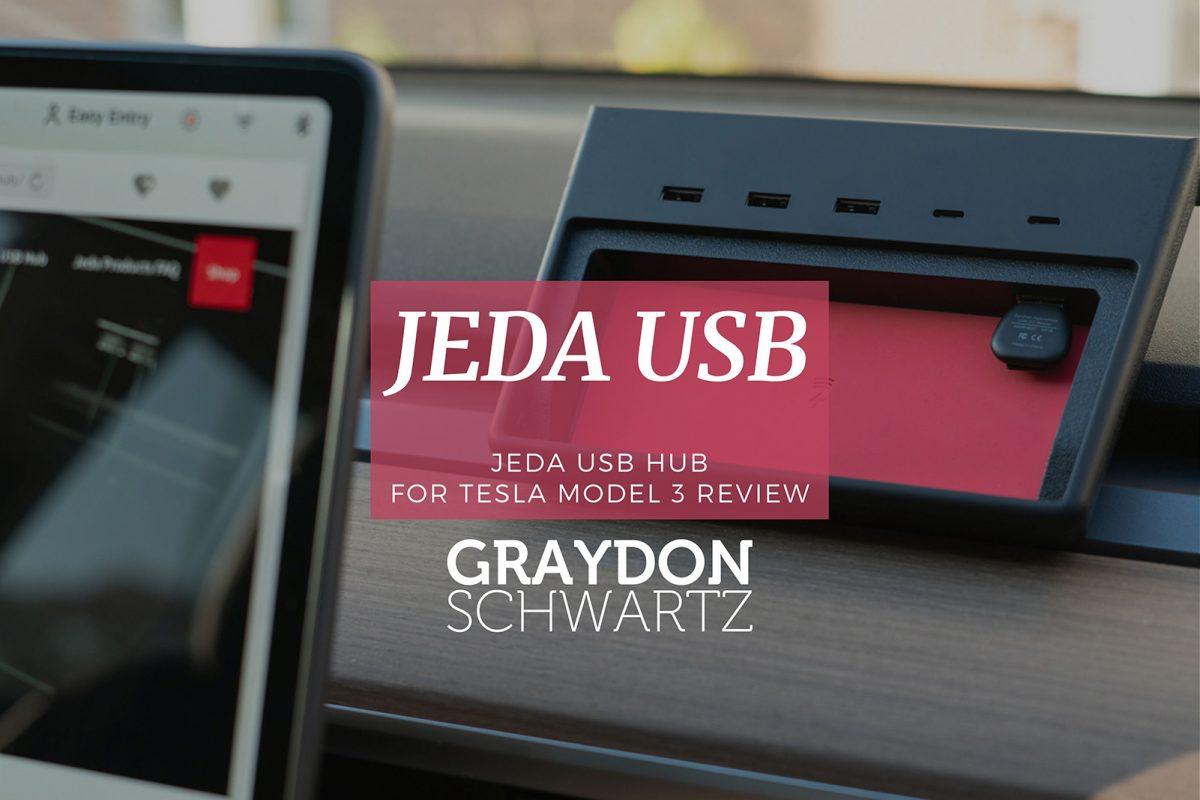 Jeda USB Hub für Tesla Model 3 Testbericht