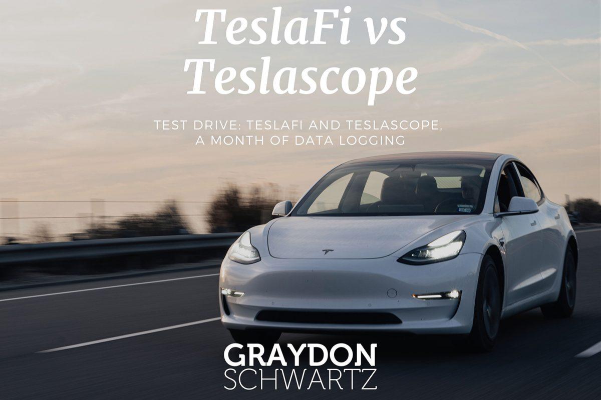 Test Drive : TeslaFi et Teslascope, un mois d'enregistrement de données