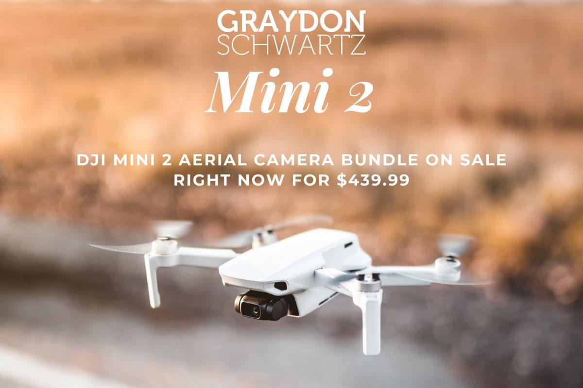 Paquete de cámara aérea DJI Mini 2 en oferta ahora mismo por $439.99