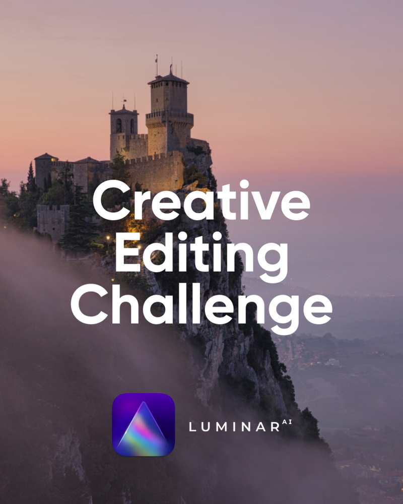 the creative editing challenge with elia locardi and luminar ai promo 1 | graydonschwartz.com