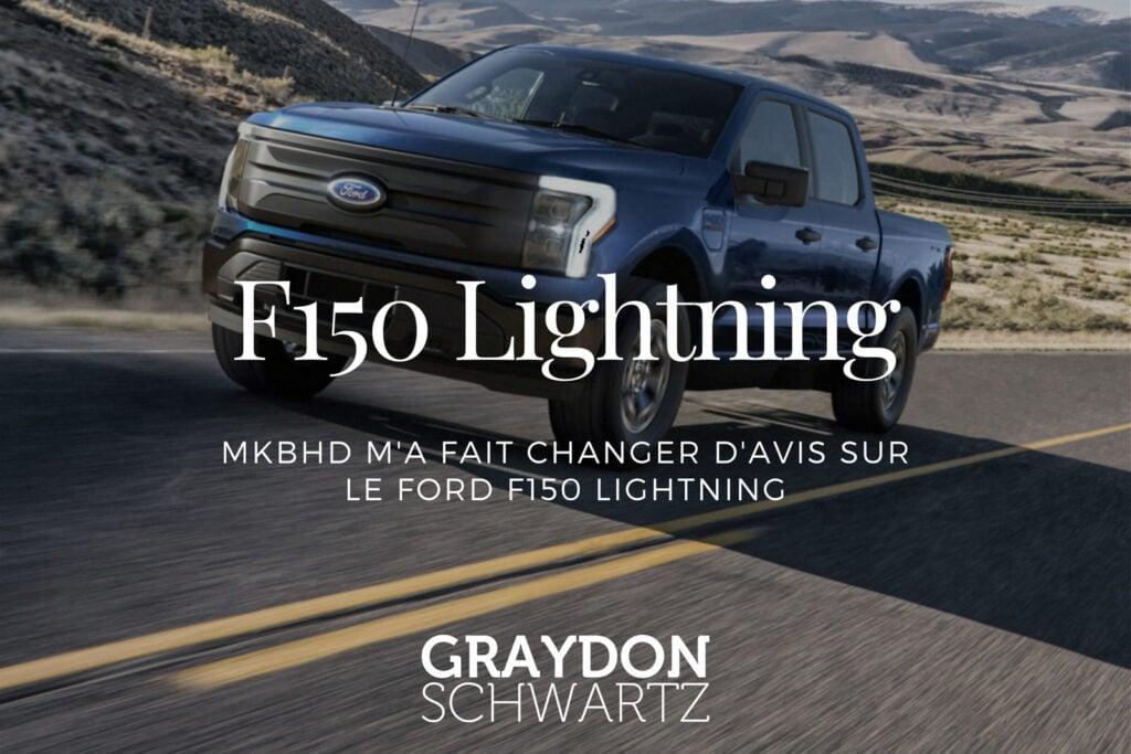 MKBHD m'a fait changer d'avis sur le Ford F150 Lightning