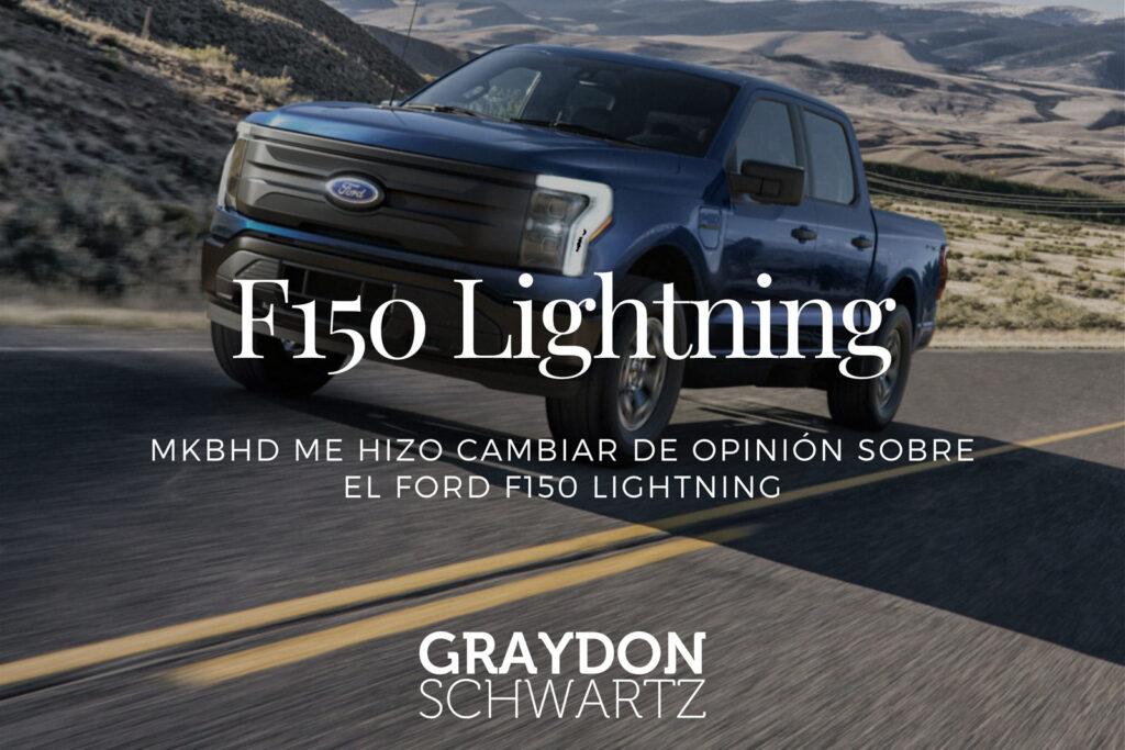 MKBHD me hizo cambiar de opinión sobre el Ford F150 Lightning