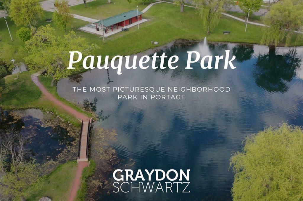 Der malerischste Nachbarschaftspark in Portage