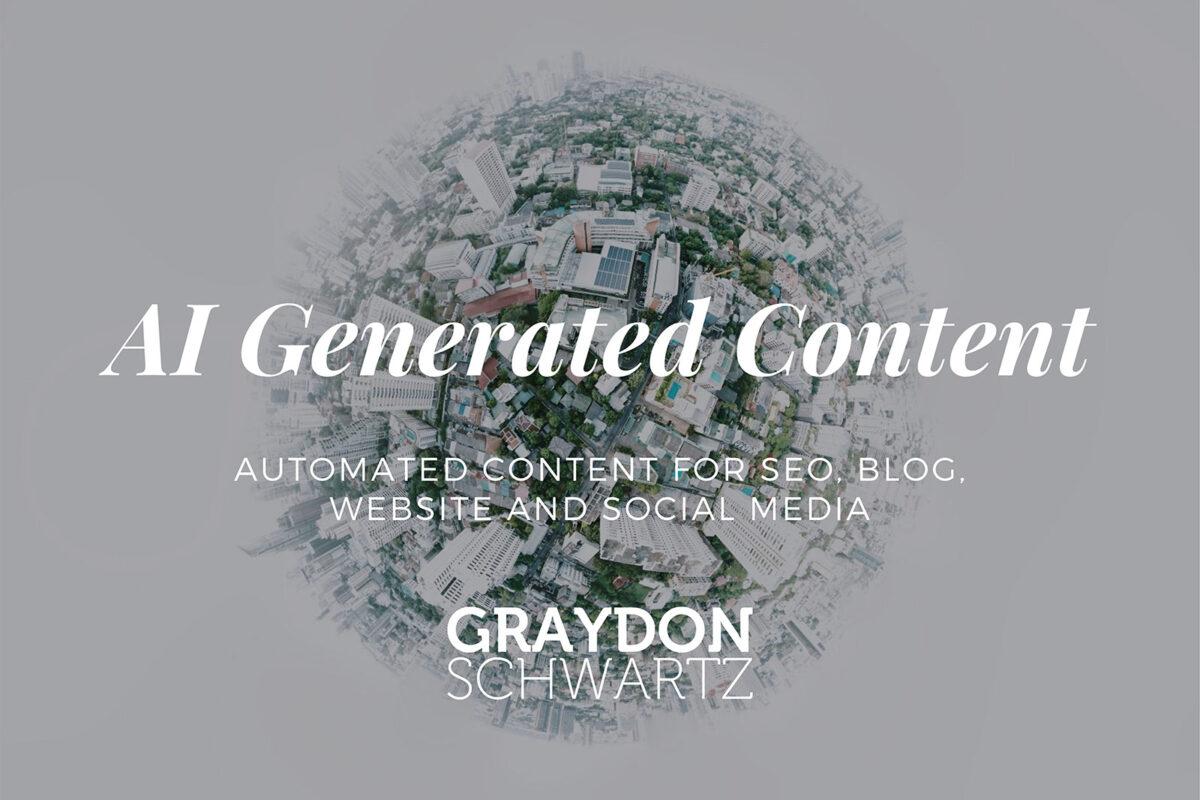 Automatisierte Inhalte für SEO, Blog, Website und soziale Medien