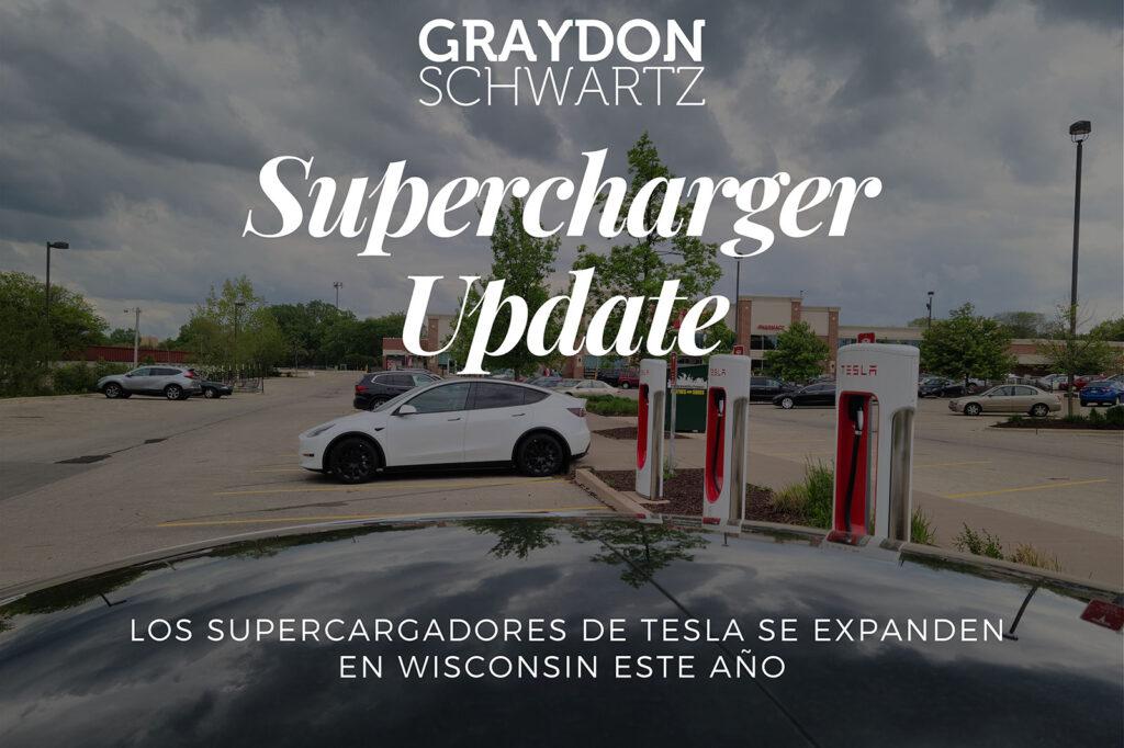Los supercargadores de Tesla se expanden en Wisconsin este año
