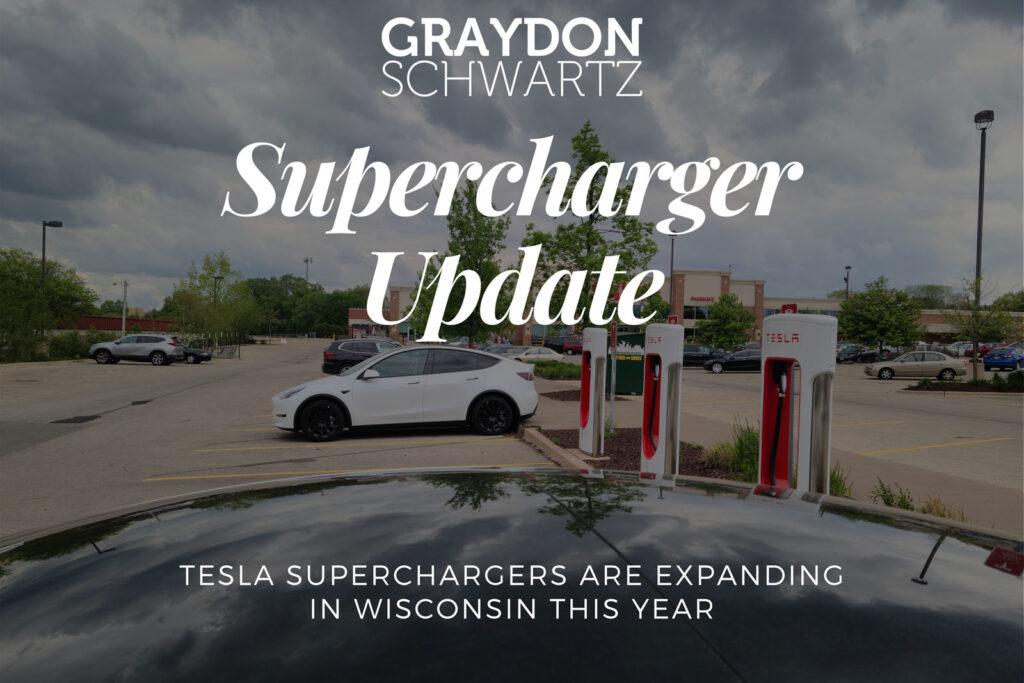 Tesla-Supercharger werden in diesem Jahr in Wisconsin ausgeweitet
