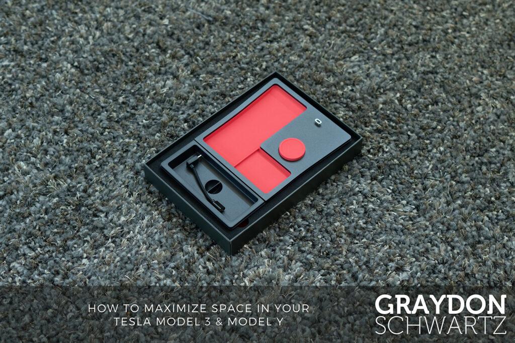 tesla tray by jeda carpet in box | graydonschwartz.com
