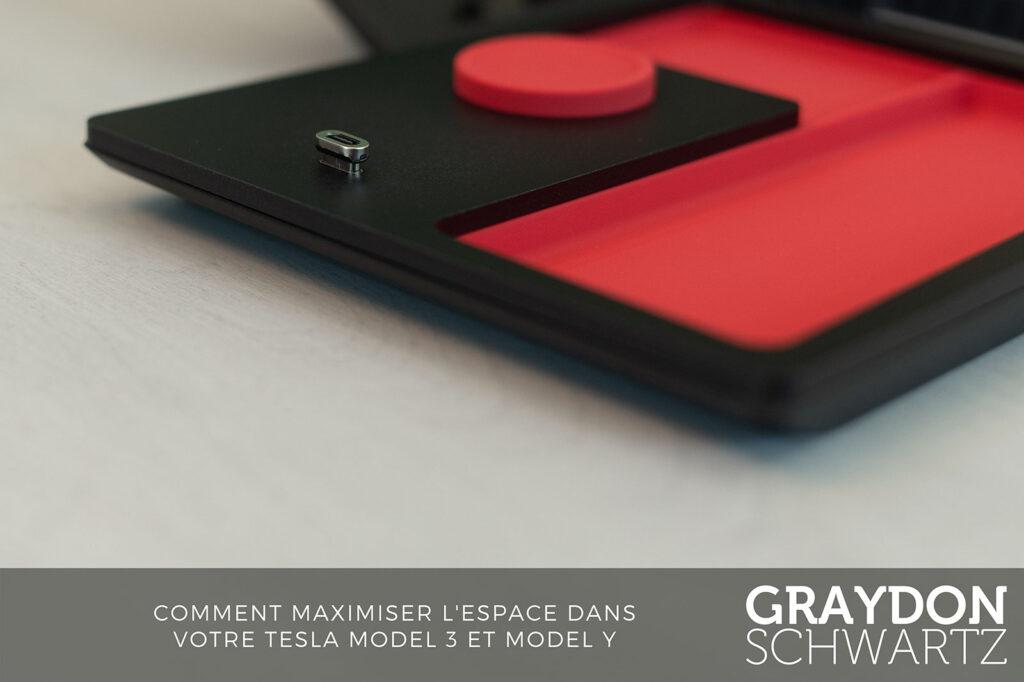 tesla tray by jeda magnetic usb c fr | graydonschwartz.com