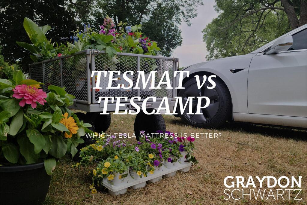 TESMAT vs TESCAMP — Which Tesla Mattress is Better?