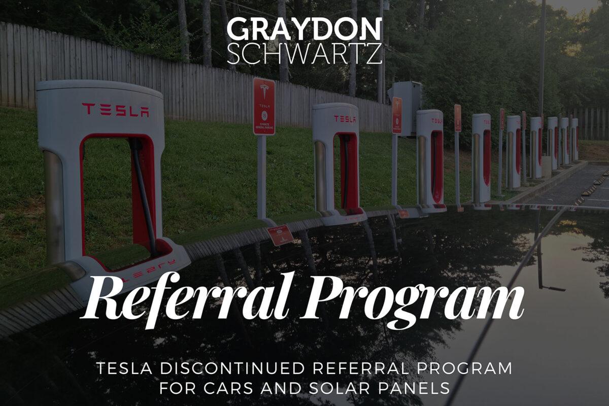 Tesla stellt Empfehlungsprogramm für Autos und Solarpaneele ein