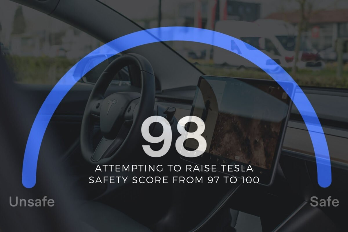 Attempting to Raise Tesla Safety Score from 97 to 100