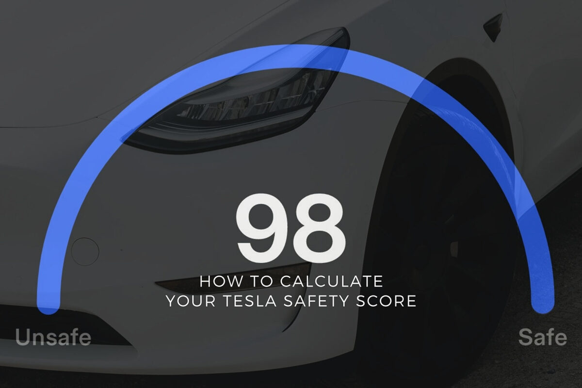 How to Calculate Your Tesla Safety Score