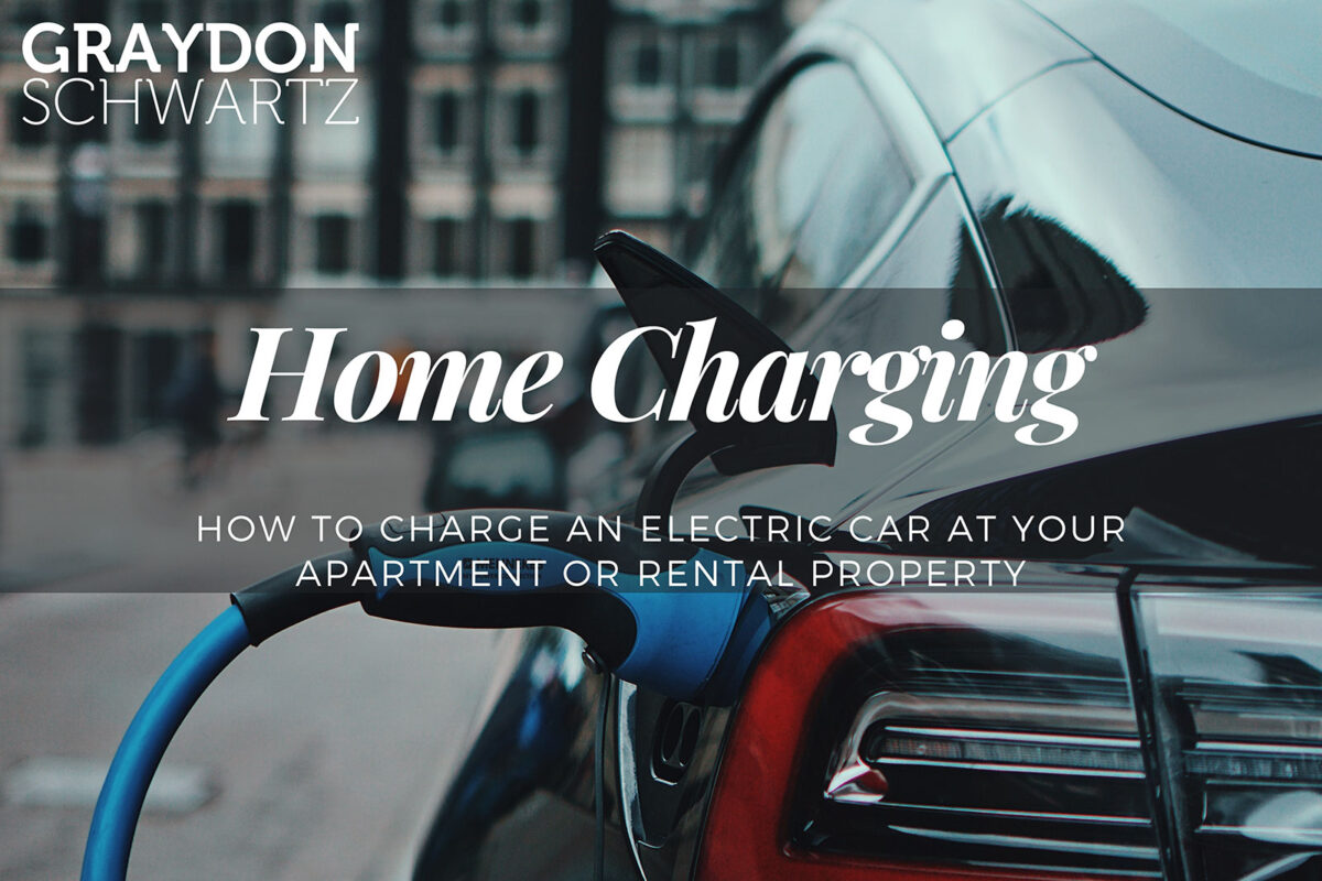 Wie Sie ein Elektroauto in Ihrer Wohnung oder Ihrem Mietobjekt aufladen können